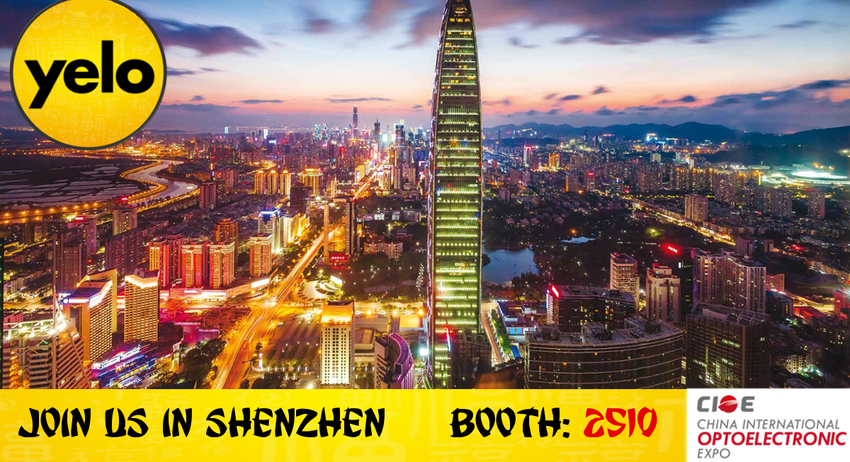 Yelo to Exhibit at CIOE in Shenzhen